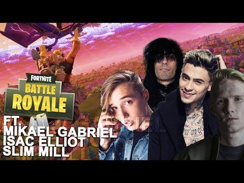 FORTNITE LIVE! FEAT. Mikael Gabriel, Isac Elliot, Slim Mill