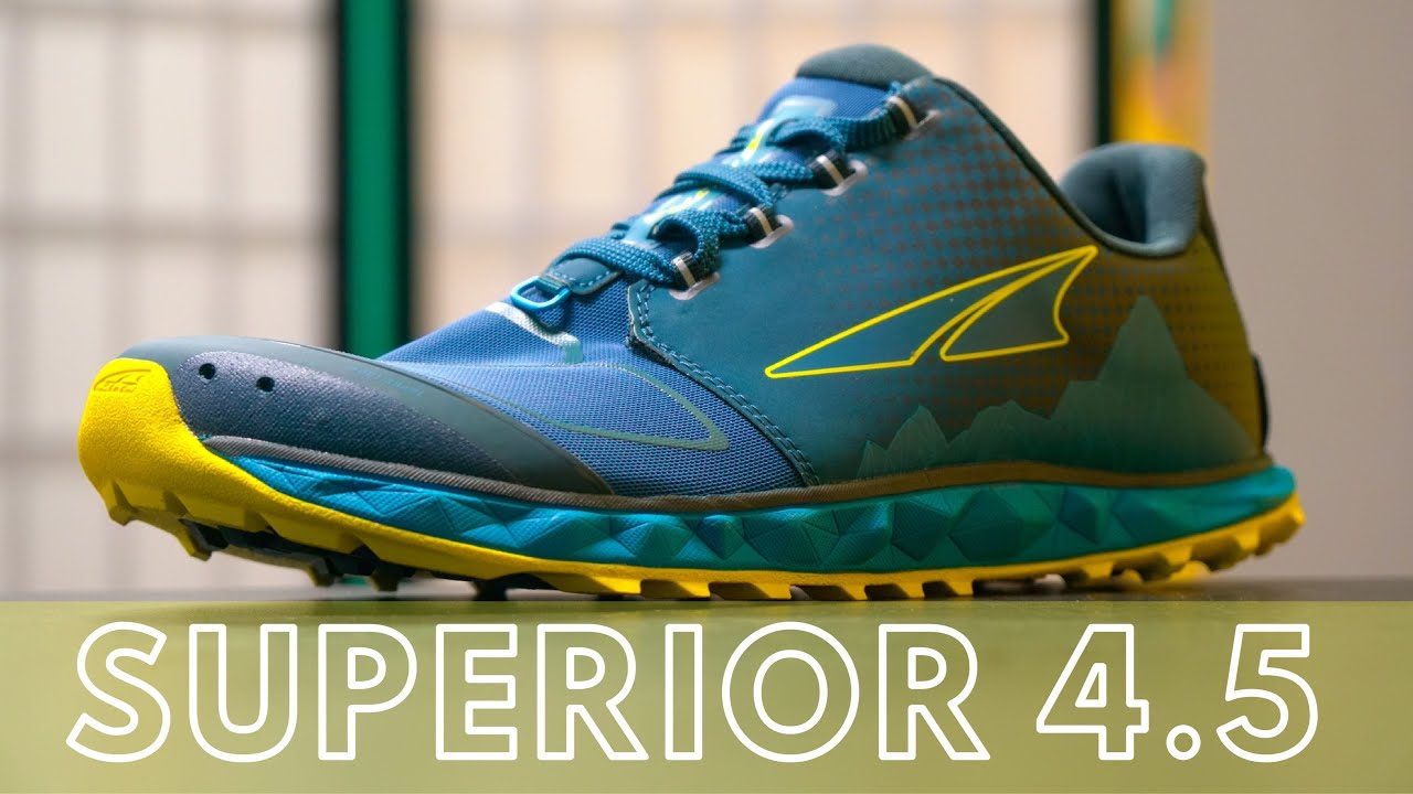 Altra Superior 4.5 Review - YouTube