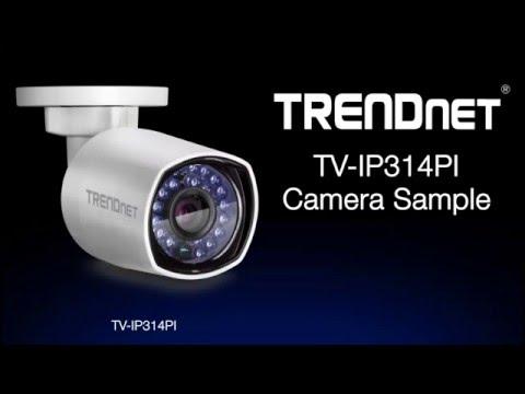 TRENDnet TV-IP314PI Camera Sample