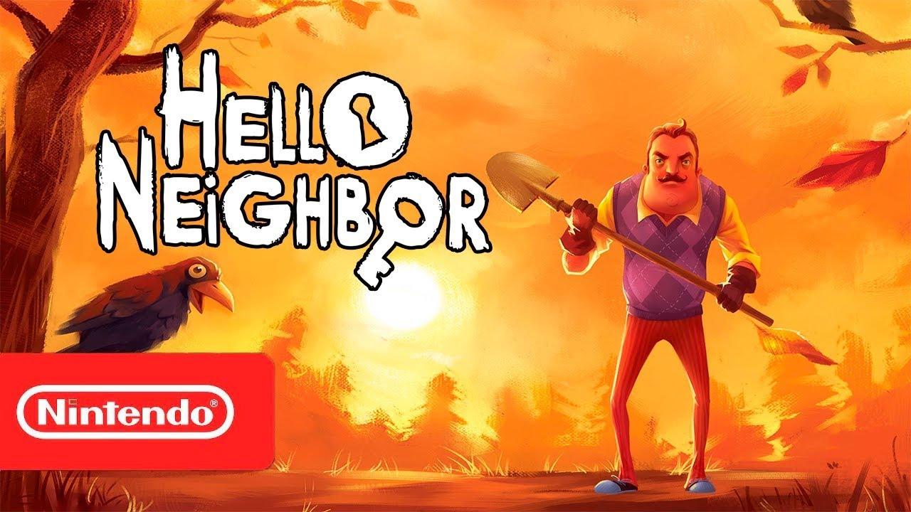 Hello Neighbor Launch Trailer Nintendo Switch Youtube