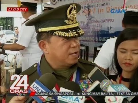 24 Oras: Mga sundalo, naka-deploy sa Davao City Transport Terminal