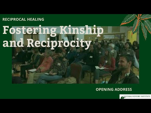 Reciprocal Healing: Fostering Kinship and Reciprocity with Robin Wall Kimmerer