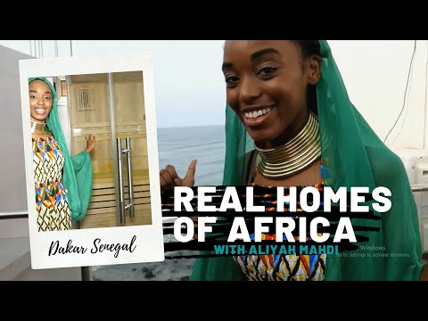 OCEANVIEW CONDO: REAL HOMES OF AFRICA (SENEGAL)