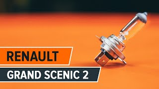 Installation Nebellampen LED RENAULT SCÉNIC: Video-Handbuch