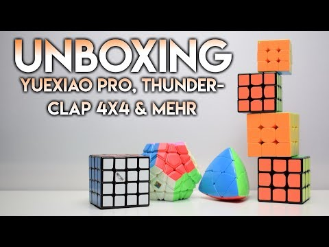 Yuexiao Pro, Thunderclap 4x4, Guanlong Plus & mehr | Großes Unboxing