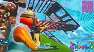 So i was on The Fortnite Big Screen again (most eliminations)