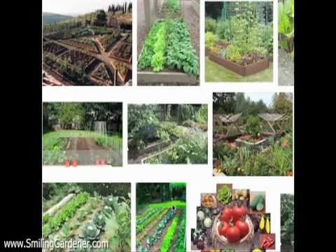 Organic Vegetable Garden Design - 2 Curvaceous Tips - Youtube