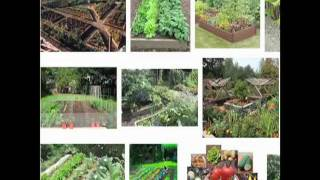 Organic Vegetable Garden Design - 2 Curvaceous Tips