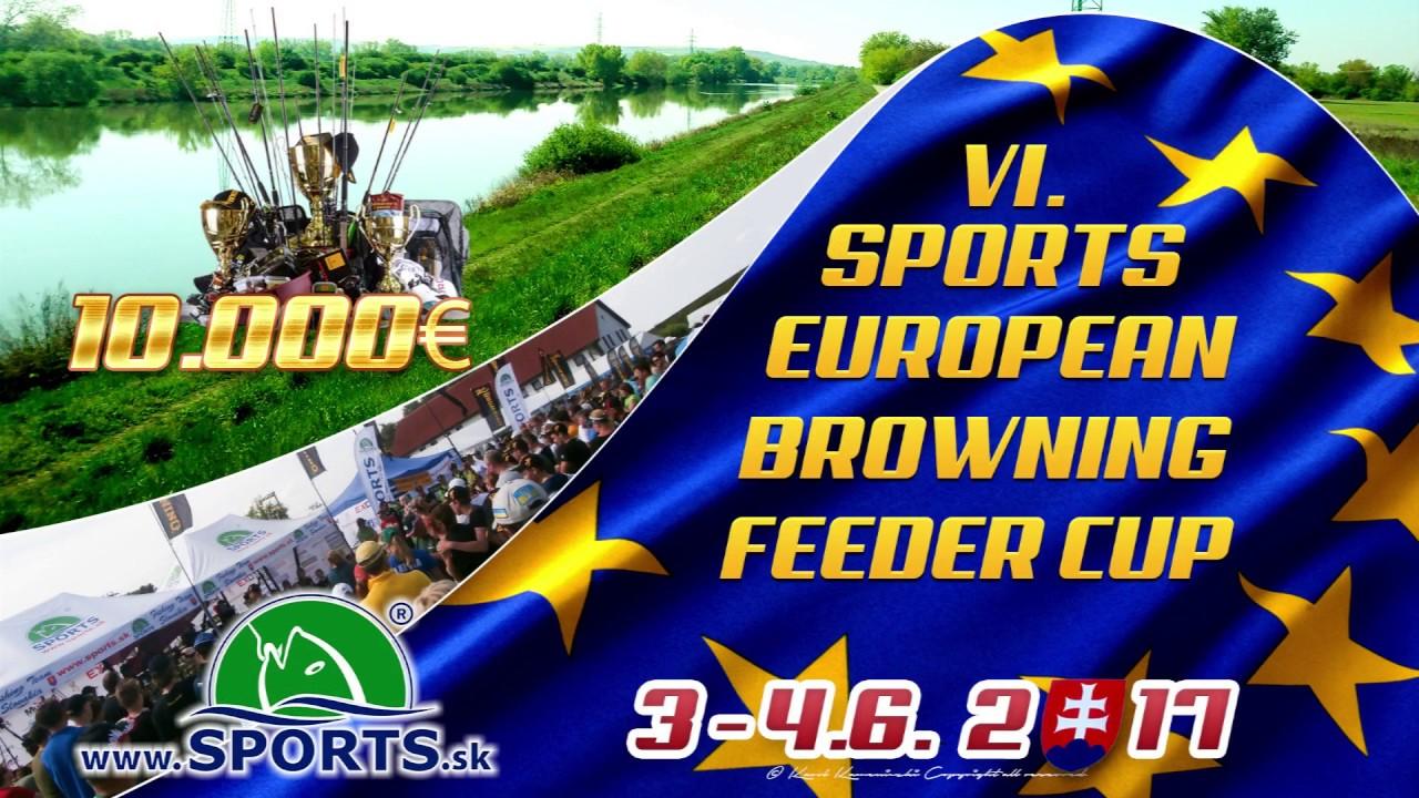 2e72177c2 Rybárske potreby SPORTS - SPORTS EUROPEAN FEEDER BROWNING CUP - SLOVAKIA