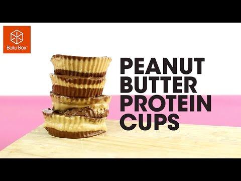 Peanut Butter Protein Cups - Bulu Box Recipes