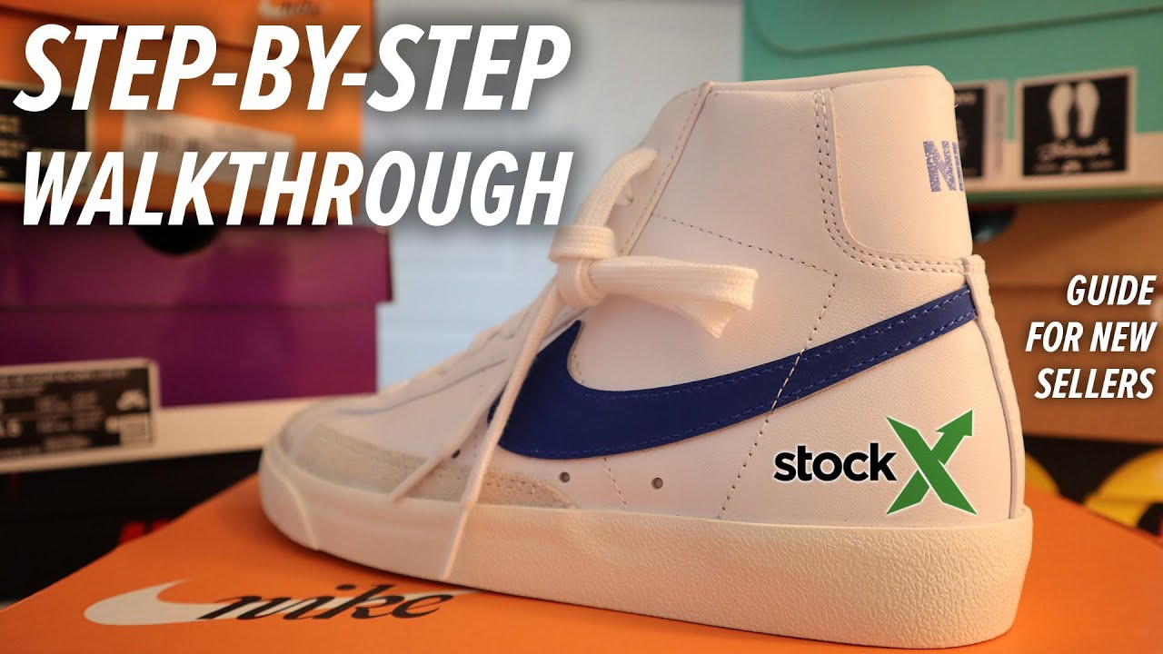 How to sell shoes on StockX FULL GUIDE