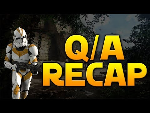 CUSTOMIZATION, SQUAD SYSTEM & MORE - Q/A Recap - Star Wars Battlefront 2