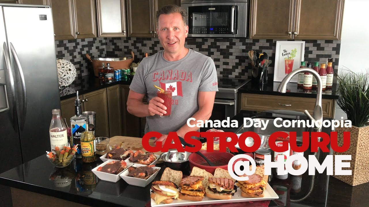 The Gastro Guru @ Home -  Canada Day Cornucopia