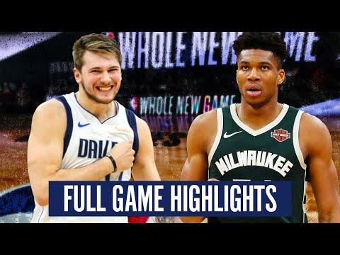MILWAUKEE BUCKS vs DALLAS MAVS - FULL GAME HIGHLIGHTS | 2019-20 NBA Season