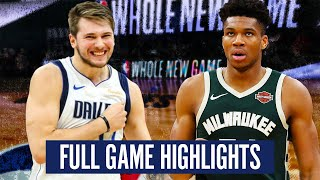MILWAUKEE BUCKS vs DALLAS MAVS - FULL GAME HIGHLIGHTS | 2019-20 NBA Season