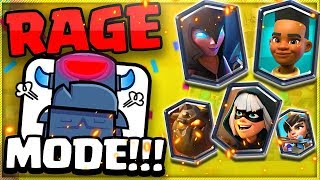 Are the LEGENDARY rewards worth the RAGE?! (Clash Royale 15 Win Challenge)