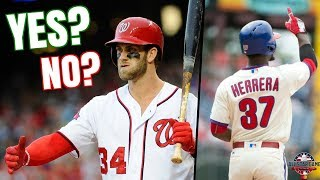 Should Bryce Harper Be Starting? 2018 MLB All-Star Game Starters & Biggest Snubs