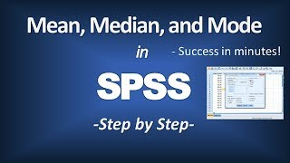 how to calculate the mean median and mode in spss central tendency