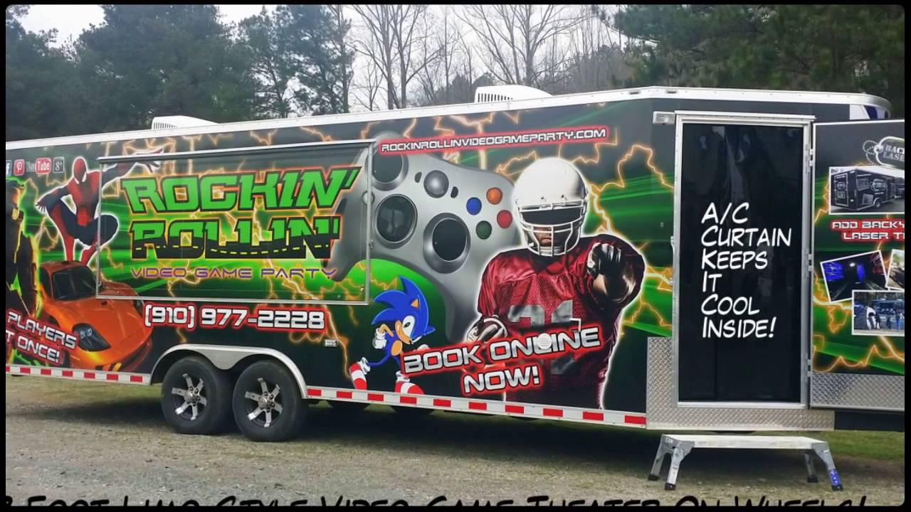 Buy the Best Mobile Video Game Truck! Not a Franchise! 910-977-2228