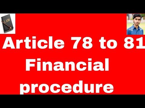 financial-procedure-of-parliment-article-78-to-81-of-constitution-of-pakistan-1973-in-urdu-and-hindi