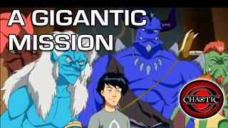 Chaotic Season 3 Episode 8 A Gigantic Mission Gregory Abbey Clay Adams John Delaney Youtube