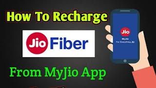 How To Recharge Jio Fiber Using MyJio App | Solve With Shams screenshot 2