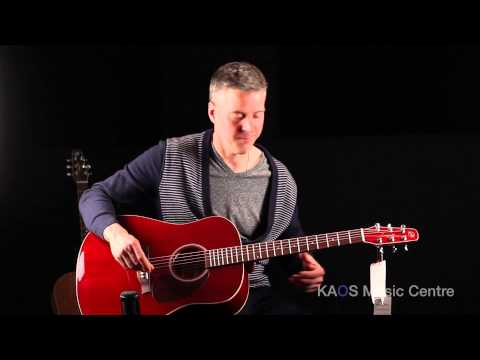 KAOS Gear Demo - Seagull S6 Trans Red