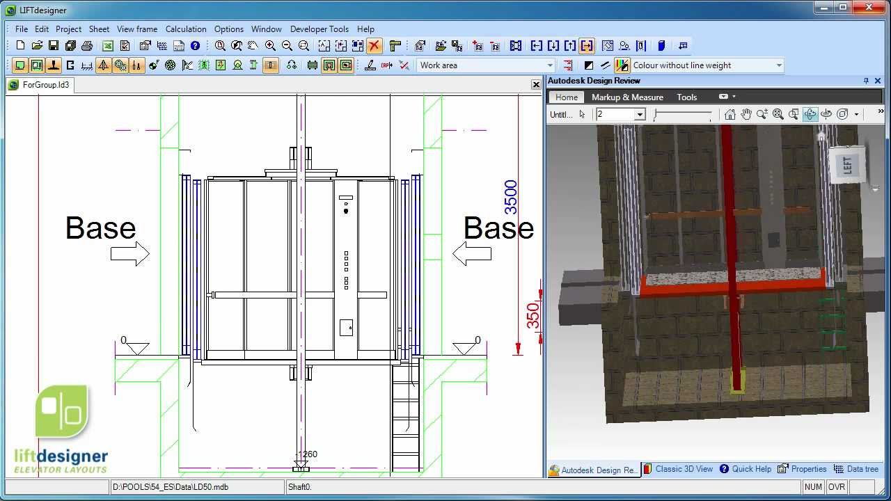 Digipara Liftdesigner Cad Software To Design Elevators Youtube