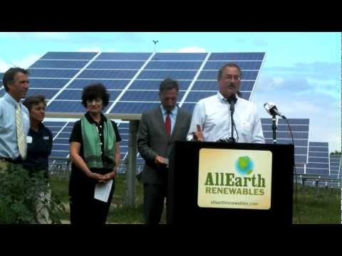 AllEarth Renewables Solar Trackers | July 27th, 2011
