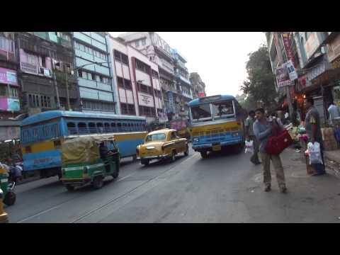 Kolkata - A walk on Mahatma Gandhi MG Road