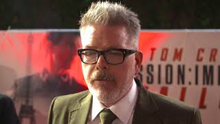 Mission Impossible Fallout London Premiere - Itw Christopher McQuarrie (official video)