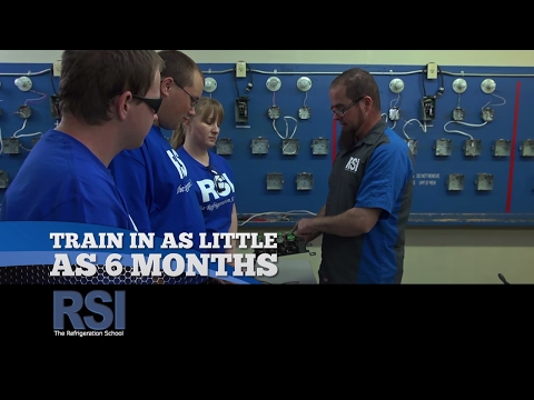 How To Start A New Career in 6 Months - The Refrigeration School
