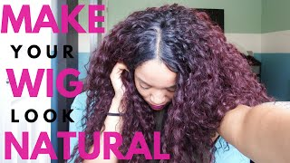 How To Make Your Synthetic Wig Look Natural (Kitron Wig Review)