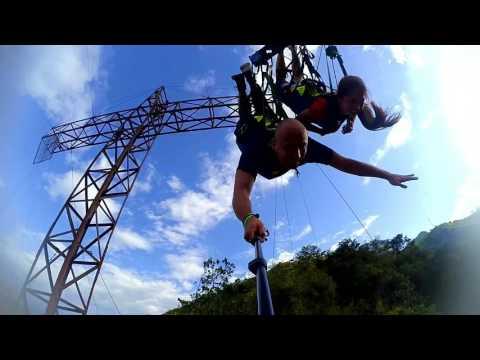Sky Tobia HD. Péndulo gigante a 130 metros sobre Tobia, Nimaima, Cundinamarca