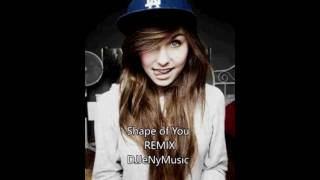 Ed Sheeran - Shape of You |  DJJeNyMusic Remix | Live SHOT 2017 Video