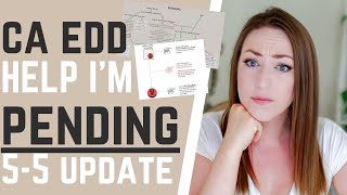CA EDD Pending Update - Why Am I Pending, How to Fix Pending Certifications, 4/10 Pending-