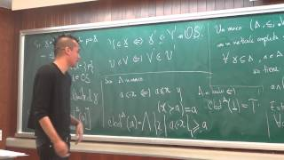 Seminario de Becarios: «El punto del Algebra sin puntos» Luis Ángel Zaldívar Corichi