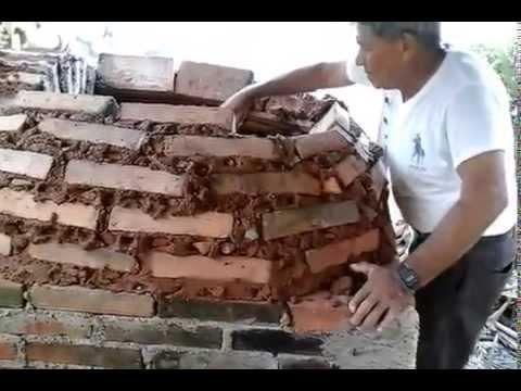 Como hacer un horno artesanal ahorrando gas o le a youtube for Como construir un horno