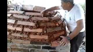 Como hacer un horno artesanal ahorrando gas o leña