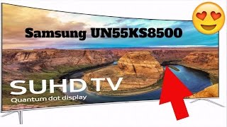 Samsung UN55KS8500 Curved 4k Smart Tv Review: A Purchase For The Future