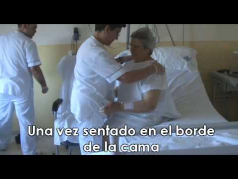 Fractura de cadera movilizaci n youtube - Tiempo en camas ...