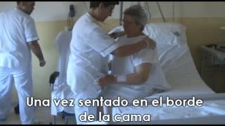 Fractura de cadera: movilización