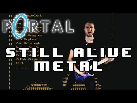 Still Alive (Portal) [Metal Vocal Cover]   ALBUM MIX 2015
