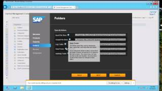 CMC - SAP BusinessObjects 4.1 (Upgrade)