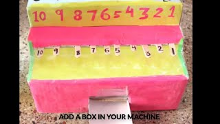 How to make maths working model for addition