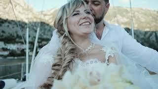Свадьба в Черногории Алиса и Андрей от агентства Чемодан Идей