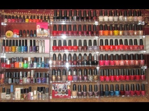 Nail Polish Collection, Storage & Organization Tips (Good Storage=Lasts Longer!)