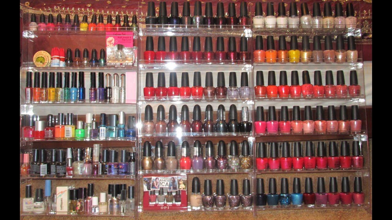 Nail Polish Collection, Storage & Organization Tips (Good Storage ...