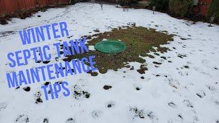 Winter Septic Maintenance Tips | D & J Septic Services, South Lyon MI