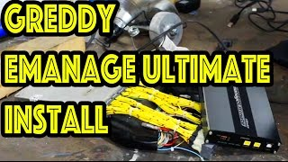 Drift Missile Build pt12 How to Install Greddy Emanage Ultimate   1jzgte 2jzgte mkiii mkiv supra